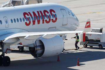 La plupart des A220 de la compagnie Swiss remis en service