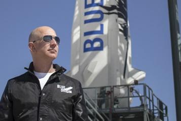 Jeff Bezos Un «saut de puce» dans l'espace)