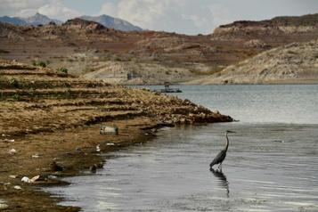Le plus grand lac artificiel des États-Unis se vide avec la sécheresse)