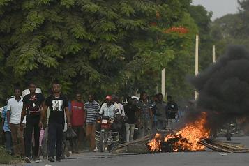 Haïti Violences près de la ville de Jovenel Moïse)