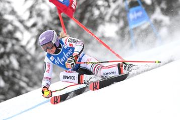 Ski alpin Tessa Worley remporte le slalom géant de San Vigilio)