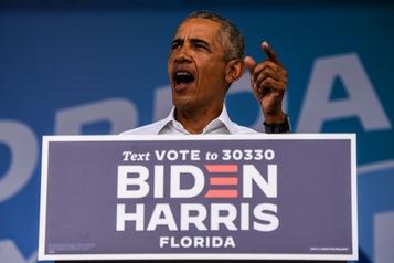 Biden et Obama en campagne ensemble pour la première fois samedi)