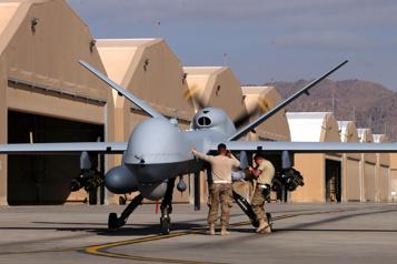Biden limite les attaques de drones hors Afghanistan, Syrie et Irak)