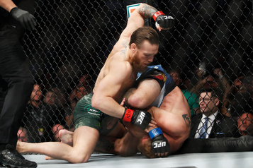 Conor McGregor terrasse Donald Cerrone en 40 secondes