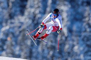Ski alpin: le Suisse Mauro Caviezel blessé à l'entraînement)