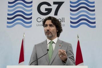 Vaccins contre la COVID-19 Le Canada donnera 13millions de doses, annonce Justin Trudeau au G7)