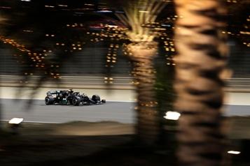Grand Prix de Bahreïn Lewis Hamilton domine les essais libres)