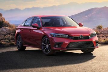Premier coup d'œil surla nouvelle Honda Civic)