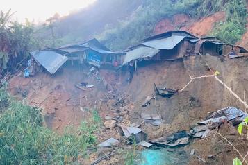 Vietnam Au moins 21morts au passage du typhon Molave)