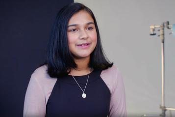 Gitanjali Rao, première récipiendaire du titre «enfant de l'année» du magazine Time)