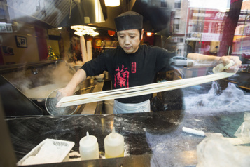 À emporter Nouilles de Lan Zhou: des nouilles parfaites pour janvier)