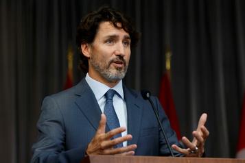 Discours du Trône Trudeau amorce ses consultations avec l'opposition)