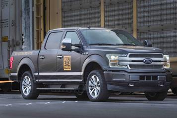 Ford Le F-150 électrique serala version lapluspuissante offerte)