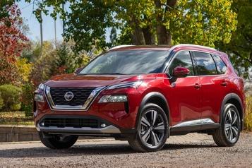 Banc d'essai Nissan Rogue2021: une refonte pondérée)