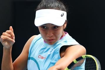 Tournoi de Charleston Leylah Annie Fernandez gagne son premier match)