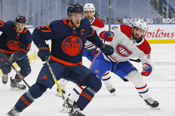 1re entracte Canadien1 – Oilers0)