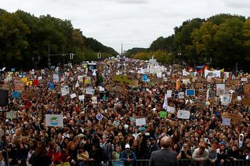 La jeunesse mobilisée en masse pour la «grève mondiale pour le climat»