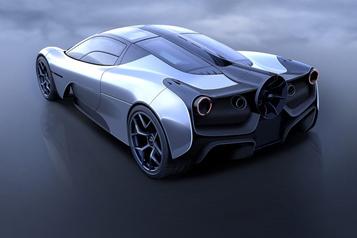 La supervoiture créée par le père de la McLarenF1 présentée le 4août )