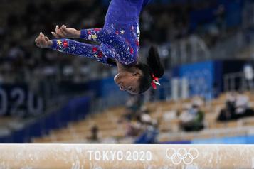 Gymnastique Simone Biles en quête de médailles et de sérénité)