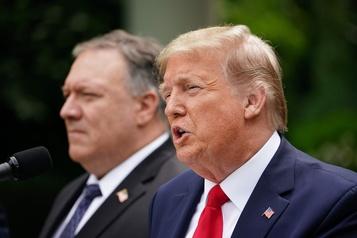 Trump coupe les ponts avec l'OMS, New York annonce un déconfinement partiel)