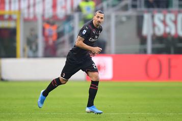 Zlatan Ibrahimovic fait déjà ses débuts avec l'AC Milan