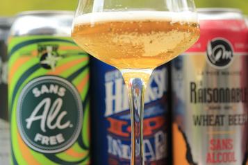 Des bières sans alcool pleines de promesses)