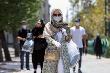 COVID-19 Nouveau record de contaminations quotidiennes en Iran)