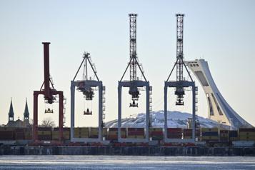 Reprise des négociations au port de Montréal )