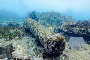 Une épave vieille de 200ans découverte près de Mahahual)