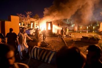 Pakistan Cinq morts dans l'attentat de Quetta, revendiqué par les talibans)
