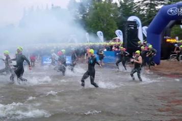 Plus de 2700 athlètes au Ironman de Mont-Tremblant