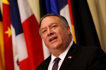 Iran Washington défie le reste du monde en proclamant le retour des sanctions)