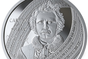 Une pièce de collection à l'effigie de Louis Riel