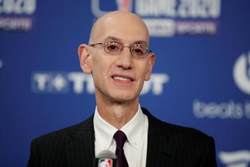 NBA Le commissaire Adam Silver optimiste au sujet de la prochaine saison)