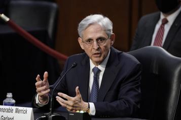 Secrétaire à la Justice Merrick Garland franchit un premier vote crucial)