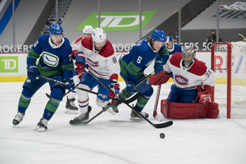 Pointage final Canadien 5 — Canucks 2)