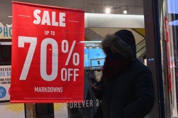 États-Unis Baisse des ventes au détail en décembre)