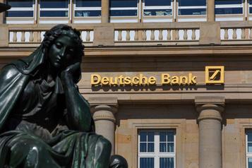 Deutsche Bank mise à l'amende pour ses relations avec Jeffrey Epstein)