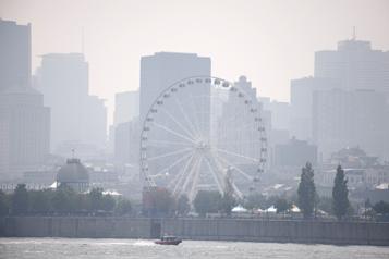 Plusieurs régions du Québec Avertissements de smog et de mauvaise qualité de l'air)