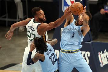 NBA Rudy Gobert est le joueur défensif de l'année)