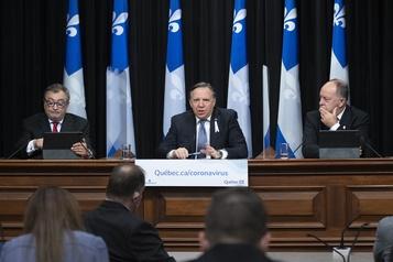 COVID-19 au Québec Legault songe à encadrer le «Boxing Day»)