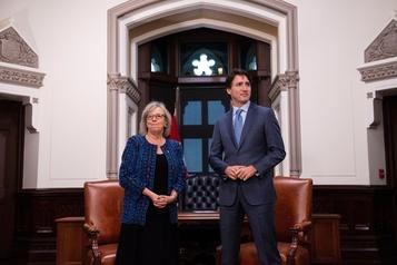 Elizabeth May votera contre le discours du Trône de Justin Trudeau