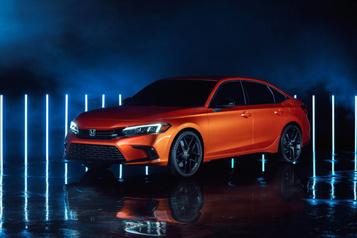 Honda dévoile la Civic 2022, la prochaine génération de sa compacte)