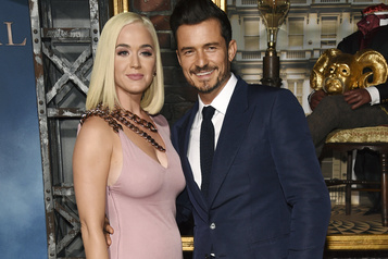 Une fille pour Katy Perry et Orlando Bloom)