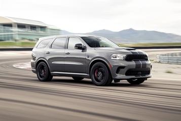 Dodge: un Durango de 710 ch pour les familles encore plus pressées)