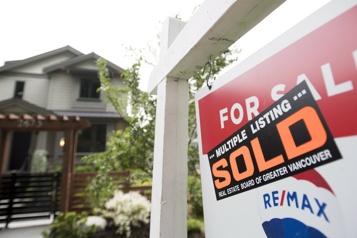 Les ventes de maisons plafonnent dans la région de Vancouver)