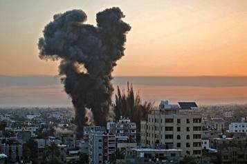 Un nouveau barrage de roquettes déclenché vers Israël, dit le Hamas)