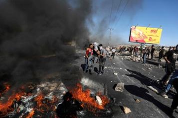Cisjordanie Dix Palestiniens tués dans des affrontements avec l'armée)