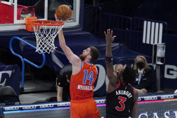 Le Thunder a le dessus113-103 sur les Raptors)