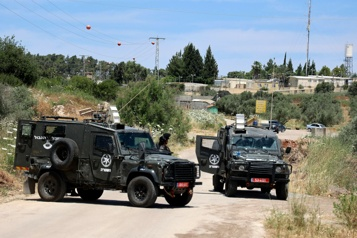 Cisjordanie La police israélienne tue deux assaillants lors d'une tentative d'attaque )